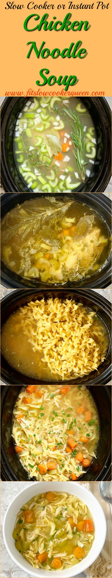 another Pinterest pin for Slow Cooker_Instant Pot Chicken Noodle Soup pin1