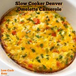 cover pic for slow cooker denver omelette casserole