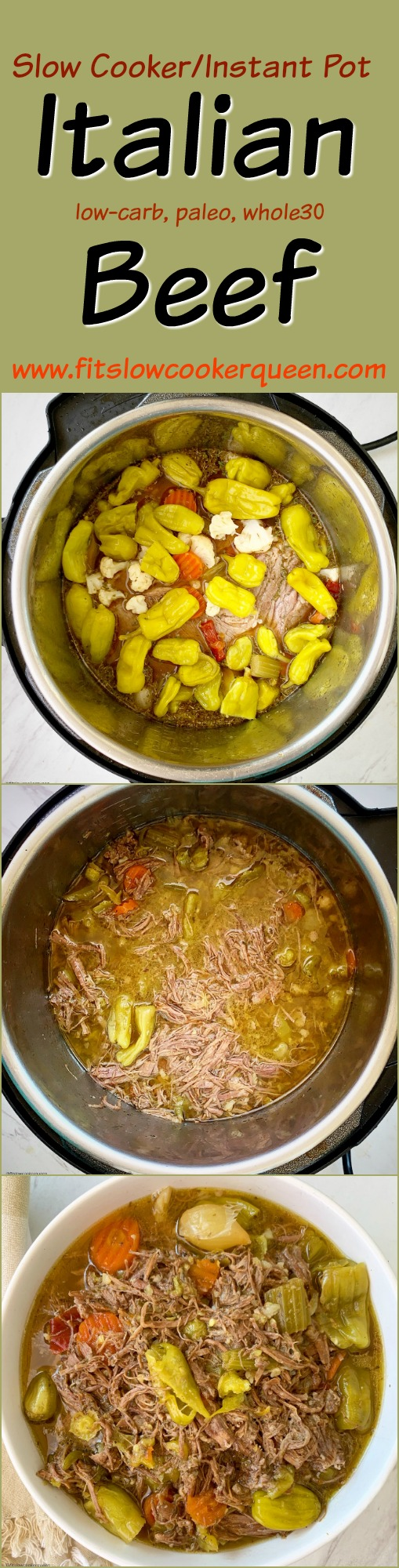another pinterest pin for Slow Cooker_Instant Pot Italian Beef (Low-Carb, Paleo, Whole30)