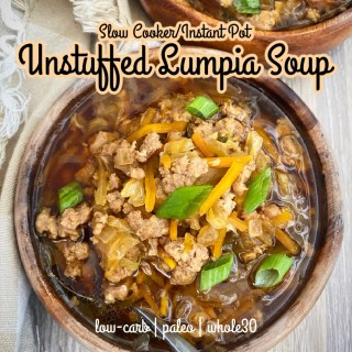 cover pic for Slow Cooker_Instant Pot Unstuffed Lumpia Soup (Low-Carb, Paleo, Whole30