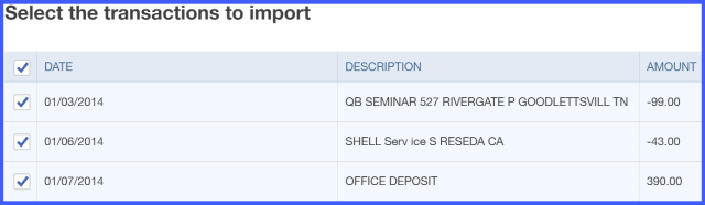 quickbooks import credit card transactions | Applydocoument co