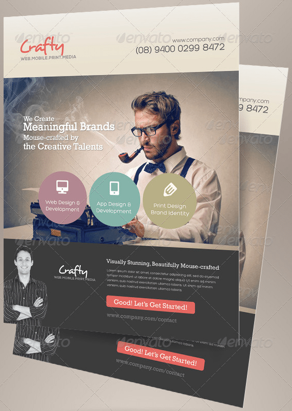 25 Creative Flyer Templates to Showcase Your Small Business flyer templates