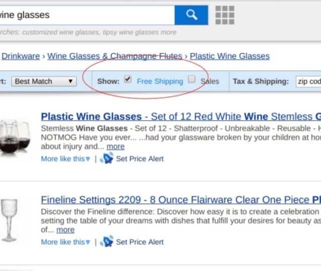 How To Offer Free Shipping Bring Your Products To The Top Of Search Lists