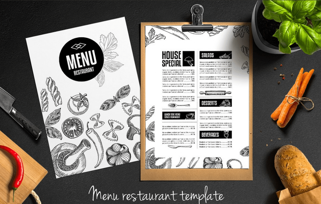 Top 25 Free Amp Paid Restaurant Menu Templates