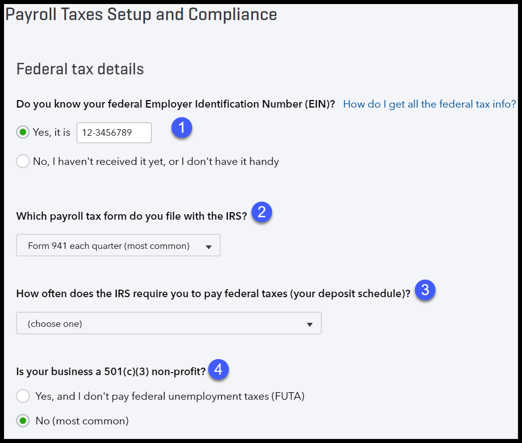 How To Set Up Calculate Amp Pay Payroll Taxes In Quickbooks