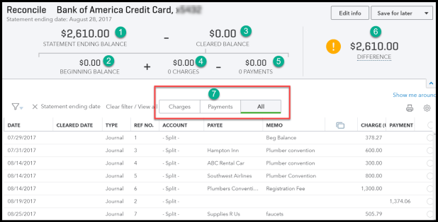 How to record credit card transactions in quickbooks online how to reconcile business credit card accounts in quickbooks online reheart Images