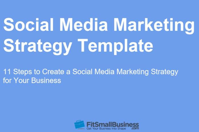 Social Media Marketing Strategy Template Thumbnail