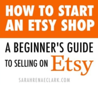 Etsy - selling on Etsy