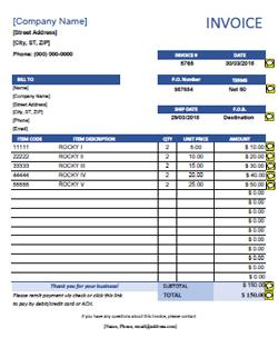 Free download quickbooks financial statement free. 10 Quickbooks Invoice Templates Free Pdf Custom Templates