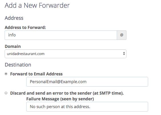 Aggiungi l'inoltro di posta elettronica in Gmail