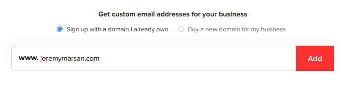 Iscriviti a Zoho Mail