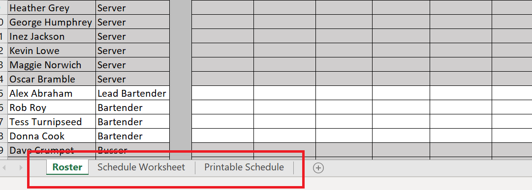Use these online schedule templates to plan your restaurant. How To Use A Restaurant Schedule Template Free Templates