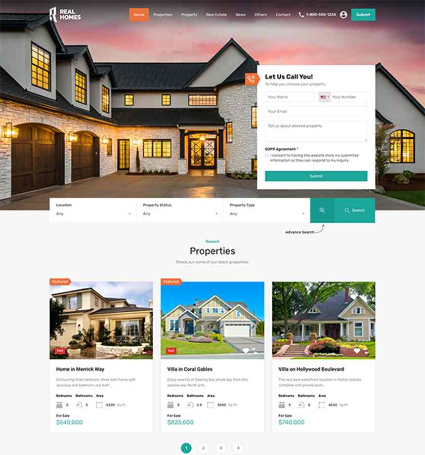 Fully customizable website themes and idx/mls solutions to get your real estate agent website started. 23 Easy To Use Real Estate Website Templates Themes