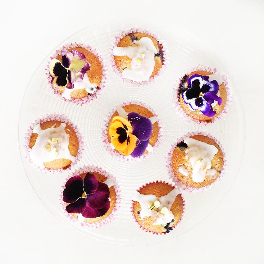 Cytrynowe muffinki z borówkamiCytrynowe muffinki z borówkami