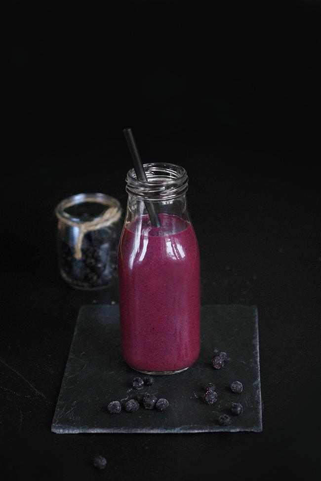Jagodowy koktajl przeciwstarzeniowy