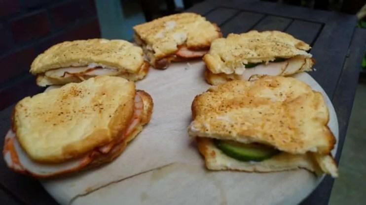 Low Carb Sandwich - Meine Oopsie Sandwiches