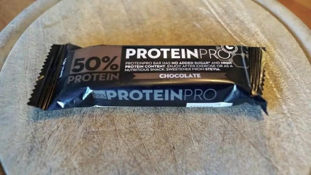 FCB 50% Protein Pro Bar Test