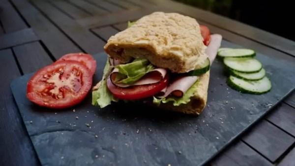 puten sandwich baguette