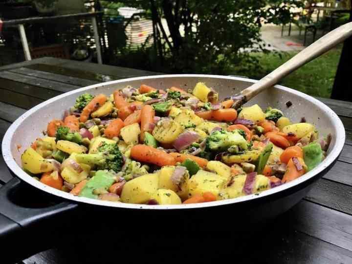 Gesundes Gemüsepfanne Rezept