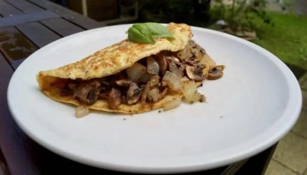 Champignion Omelett