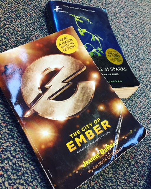 The Books of Ember are books like Harry Potter. The less you know going in, the better!