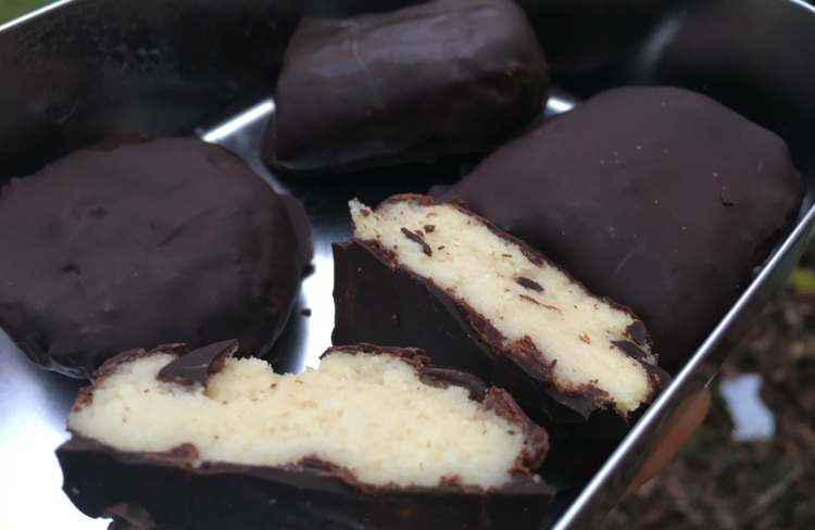 Chocolate Orange Protein Bars – Fitter Food
