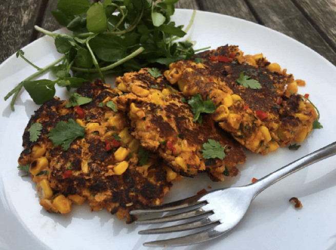 Fitter Food Sweetcorn Fritters
