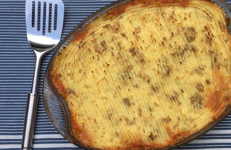 Fitter Food Epic Paleo Turkey Shepherds Pie