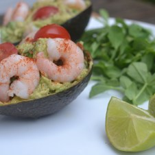 Fitter Food Prawn Guactail