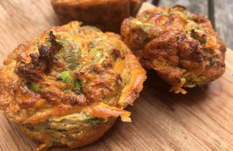 Fitter Food Mediterranean Bites Paleo Muffins