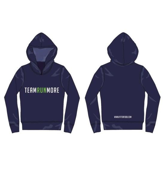 Team Runmore Hoodie Blue