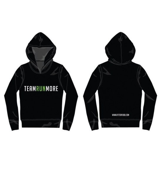 Team Runmore Hoodie Black