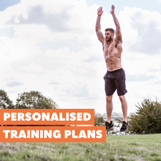 Personalised training plans from Matt Whitmore fitter food personal trainer in tunbridge wells