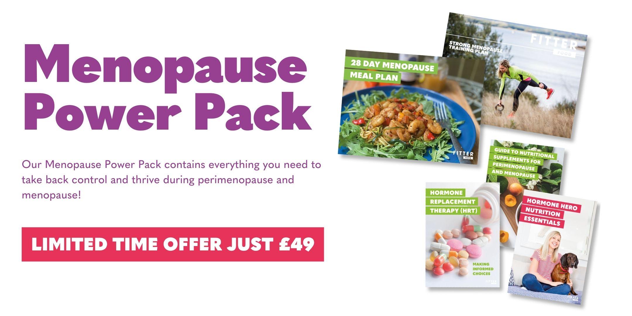 Menopause Power Pack £49