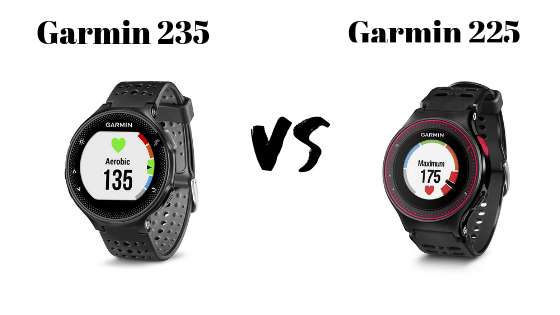 Garmin 235 vs 225: Which one to pick? September, 2019