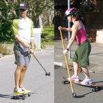 Fancy Skate Board Or New Fitness Trend?