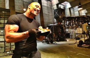 The Rock's Eating Habits