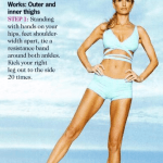 Marisa Miller Gives Us A Supermodel Work Out Tip
