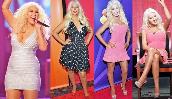 Christina Aguilera Reclaims Her Body After Losing 20 ...