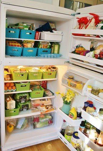 Healthy fridge