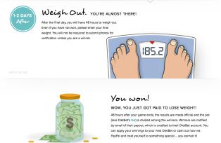 winning diet bet