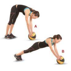 medicine ball ab exercises