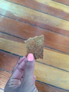 flax crackers