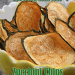 Low Carb Recipe Monday – Paleo, Low Carb and Gluten Free – Zucchini Chips
