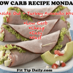 Low Carb Recipe Monday – Inside Out Avocado, Turkey Wrap