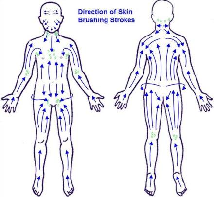 how to do dry skin brushing
