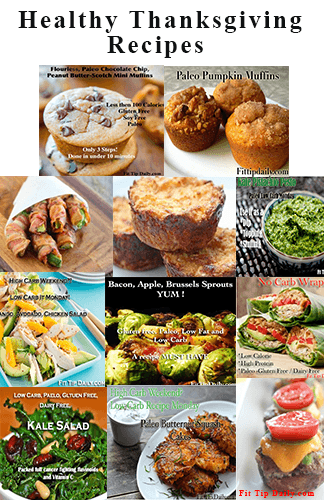 healhty thanksgving recipes