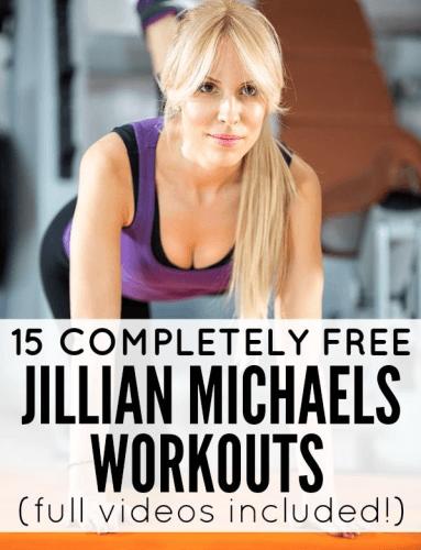 free jillian michaels workout video