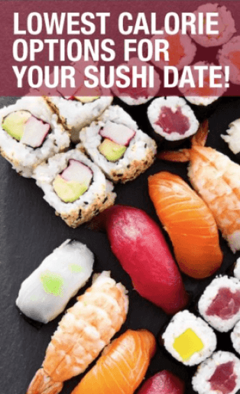 how many calories are in sushi