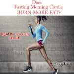 Fact or Fiction: Fasting Morning Cardio Burns More Fat